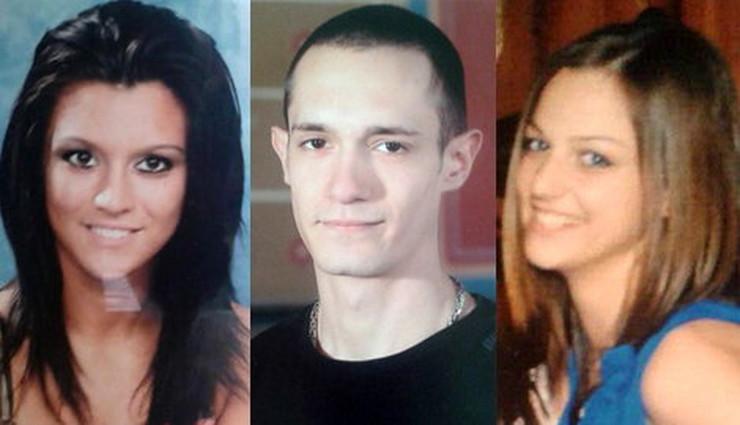 Žrtve:Vladica Matović, Aleksandar Marić i Milica Ležimirac