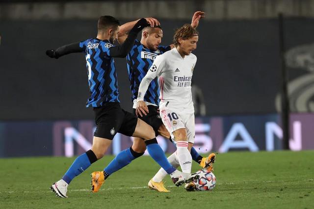 Detalj sa meča Real Madrid - Inter