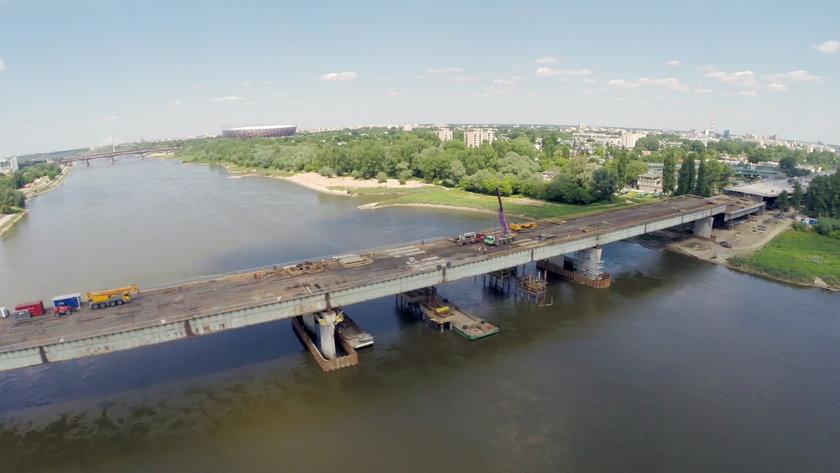 Autobusy pojadą przez Most Łazienkowski