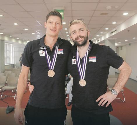 Srećko Lisinac i Uroš Kovačević