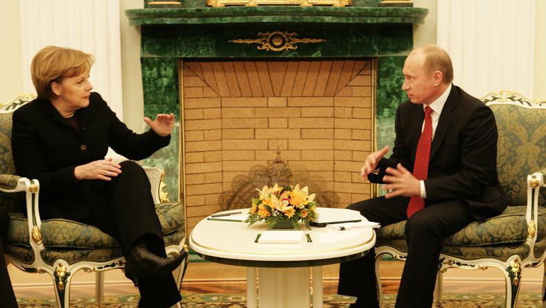 """The Independent"": Merkel i Putin mają plan dla Ukrainy"