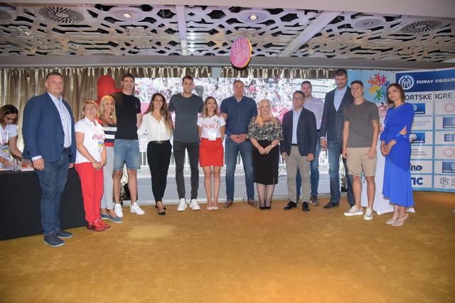Zreb za Drzavno finale Dunav osiguranje Sportskih igara mladih Srbije 2