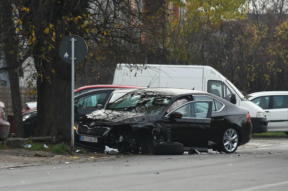 Škoda Superb sa kojom se sudario automobil porodice Balašević