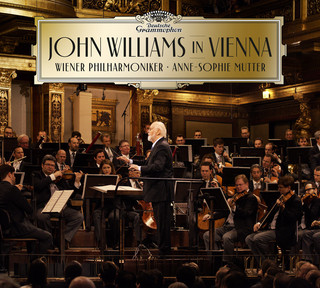 "John Williams/ Wiener Philharmoniker - ""John Williams in Vienna"": okładka płyty"