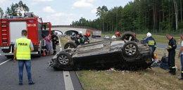 Groźny wypadek na S8. Troje dzieci w szpitalu