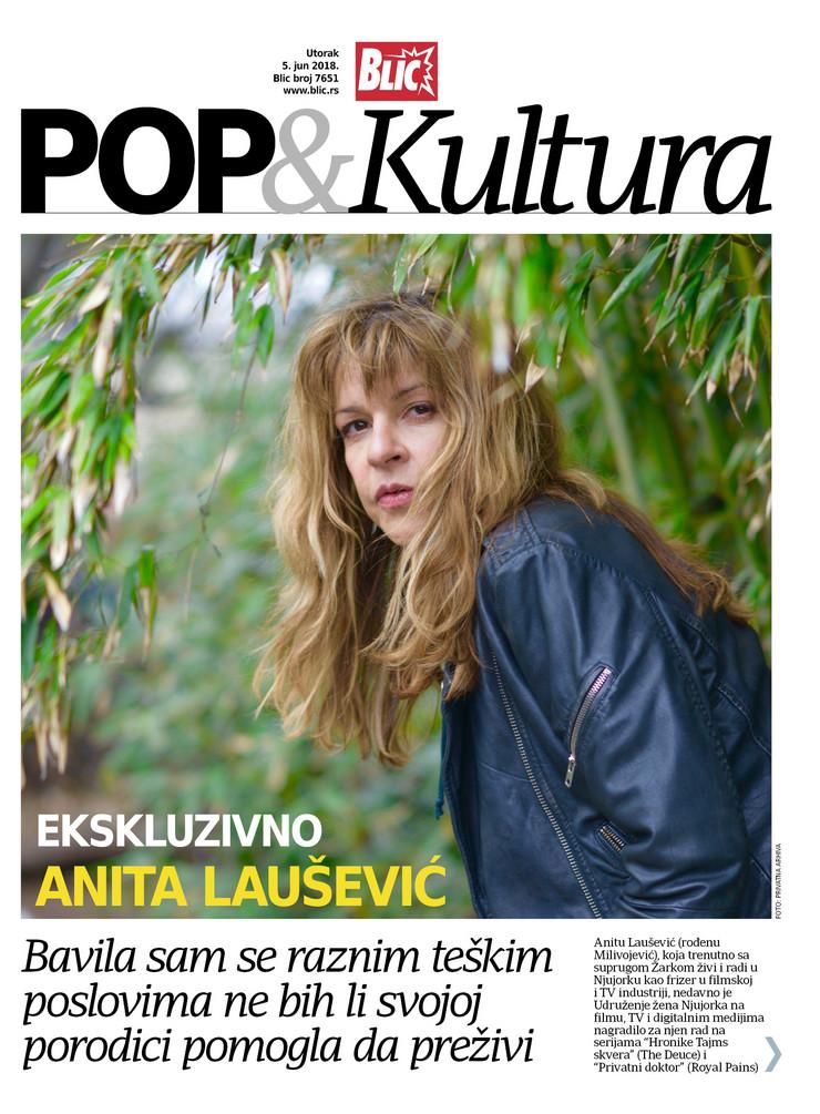 Pop kultura cover Anita Laušević