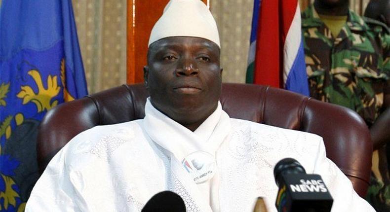 President, Republic of Gambia, Yahya Jammeh.