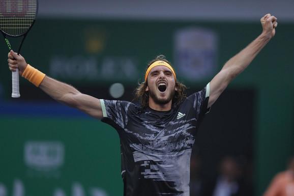 Stefanos Cicipas slavi trijumf nad Novakom Đokovićem