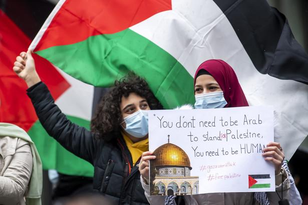 Demonstracja w Genewie