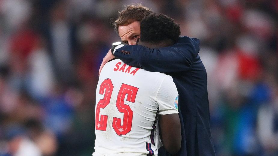 Bukayo Saka był jednym z graczy, których atakowano na tle rasistowskim