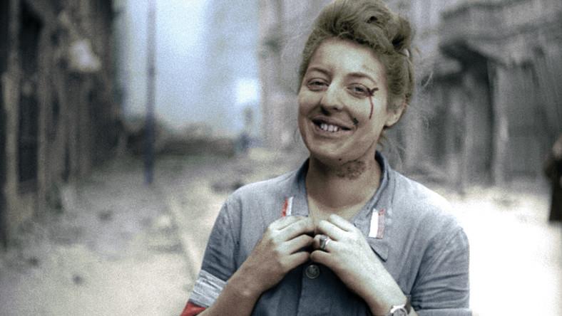 """Kadr z filmu """"Powstanie Warszawskie"""""""