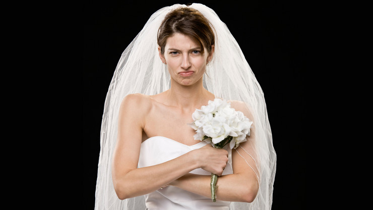 angry bride shutterstock_18328402