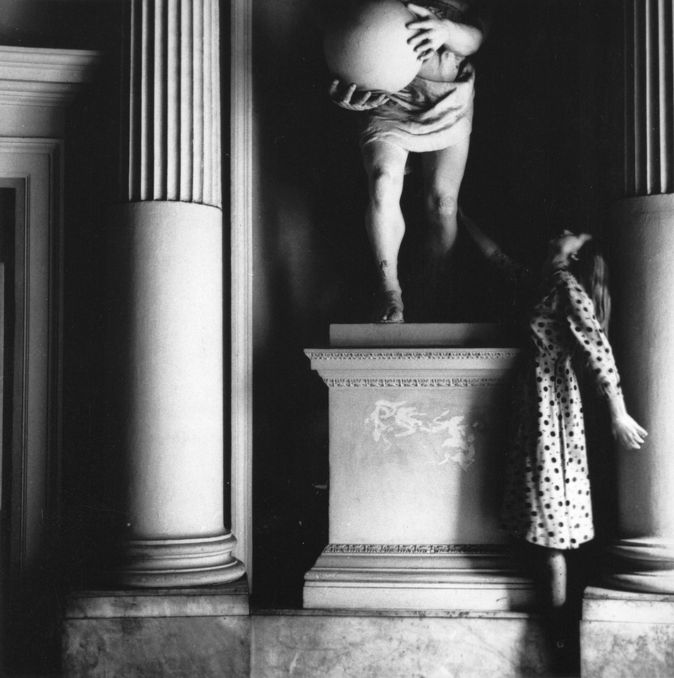 "Francesca Woodman, ""Untitled, Rome, Italy"", 1977 - 1978. Courtesy Charles Woodman, and Victoria Miro, London/Venice"