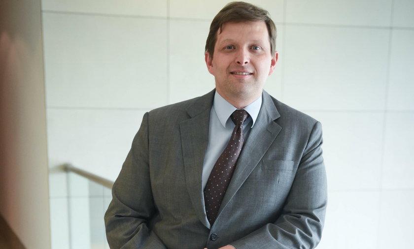 Ekonomista Marek Zuber