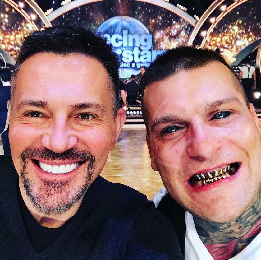 Krzysztof Ibisz i Popek