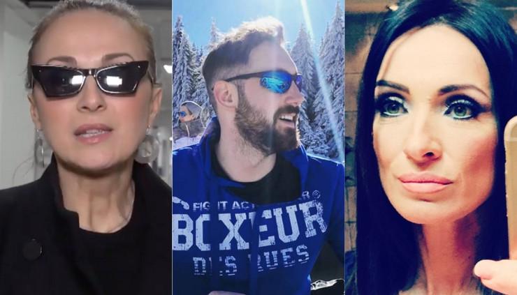 Aleksandra Radović, Petar Strugar i Slađa Delibašić