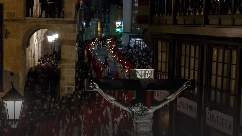 SPAIN-RELIGION-HOLY-WEEK-EASTER