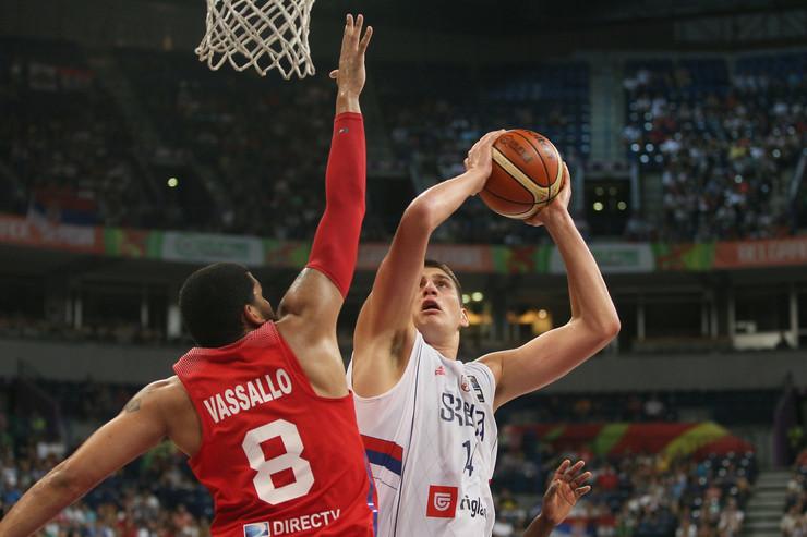 Košarkaška reprezentacija Srbije, Košarkaška reprezentacija Portorika