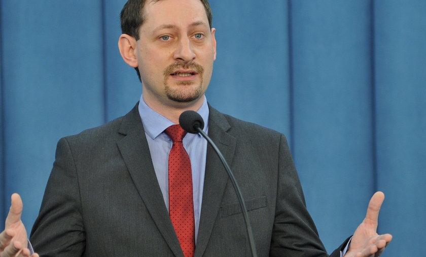 Armand Ryfiński poseł Ruch Palikota uważa że Kaczyński działa jak Hitler
