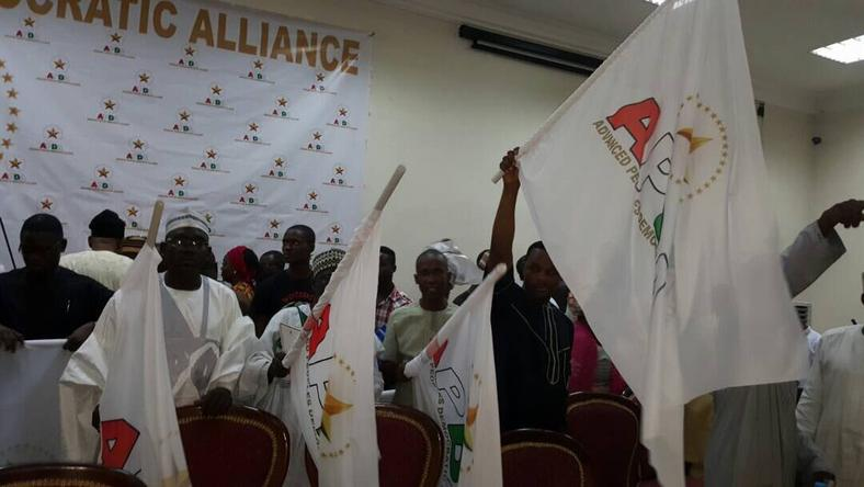 The unveiling ceremony of the Advanced Peoples Democratic Alliance (APDA) in Abuja on Monday, June 5, 2017