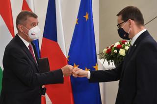 Morawiecki raz jeszcze o ustaleniach z czeskim premierem: Mamy wyznaczone wytyczne do umowy