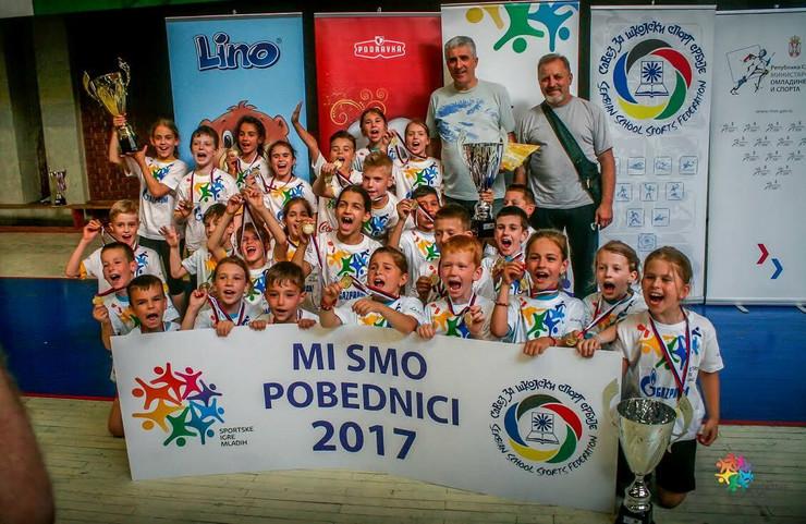 Sportske igre mladih, Paraćin