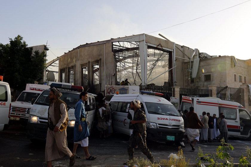 w sobotnim ataku rannych zostało ponad 500 osób