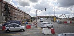 Utrudnienia w centrum Gdańska! Wszystko przez prace przy wiadukcie Biskupia Górka