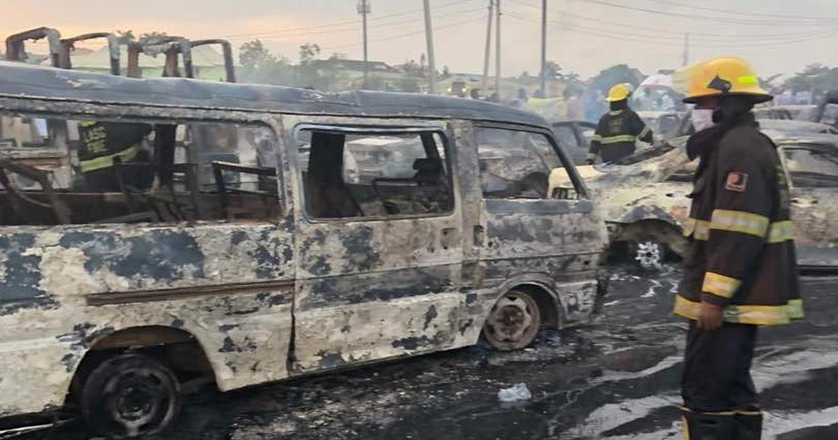10 victims of Ijegun pipeline explosion die in hospital - Lagos Govt. - Pulse Nigeria