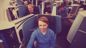 Testujemy klasę biznes KLM w locie z Krakowa do Szanghaju (przez Amsterdam)