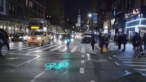 Nowojorskie rowery z osobistą ścieżką rowerową