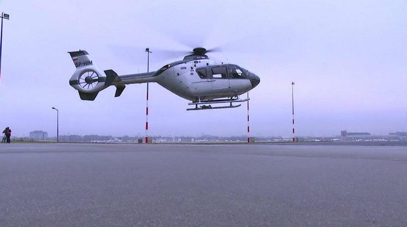 Helikopter Krzysztofa Ibisza