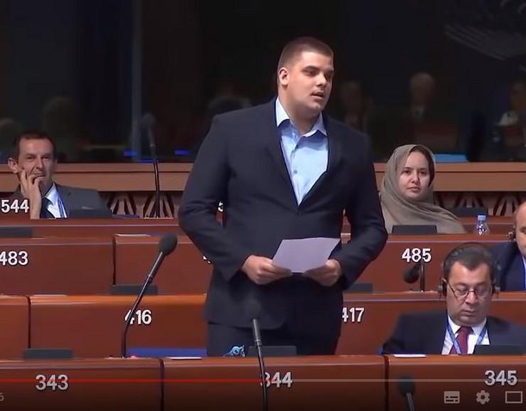 aleksandar šešelj Parlamentarna skupština SE