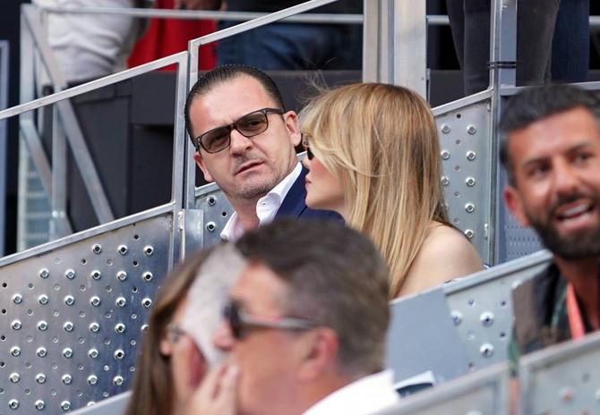 Peđa Mijatović sa suprugom Anetom