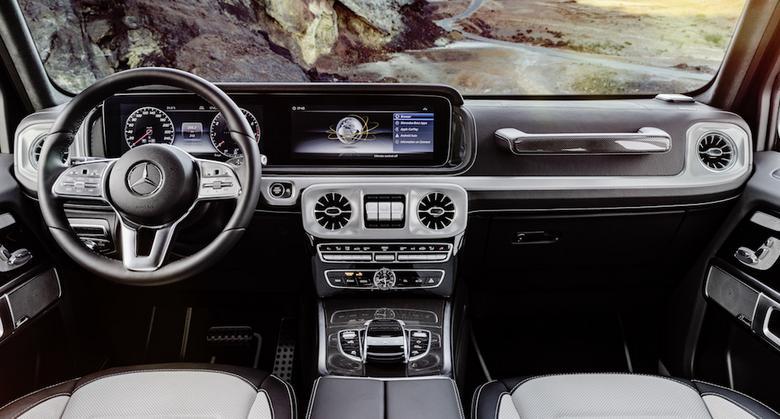 Nowy Mercedes klasy G – kokpit