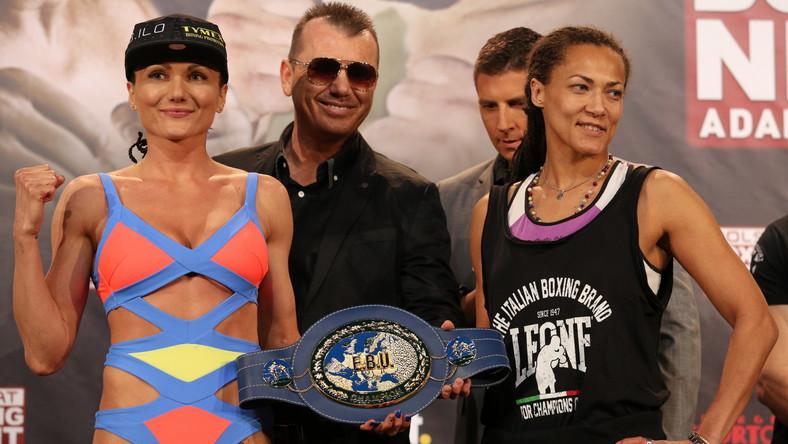 Brodnicka przed walką prezentowała się świetnie, ale w ringu podczas gali bokserskiej w Taruon Arenie Kraków już się nie pokazała.