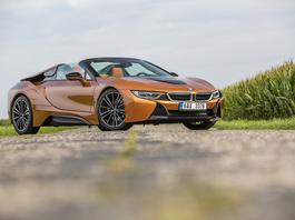 Test BMW i8 Roadster - futurystycznie i luksusowo