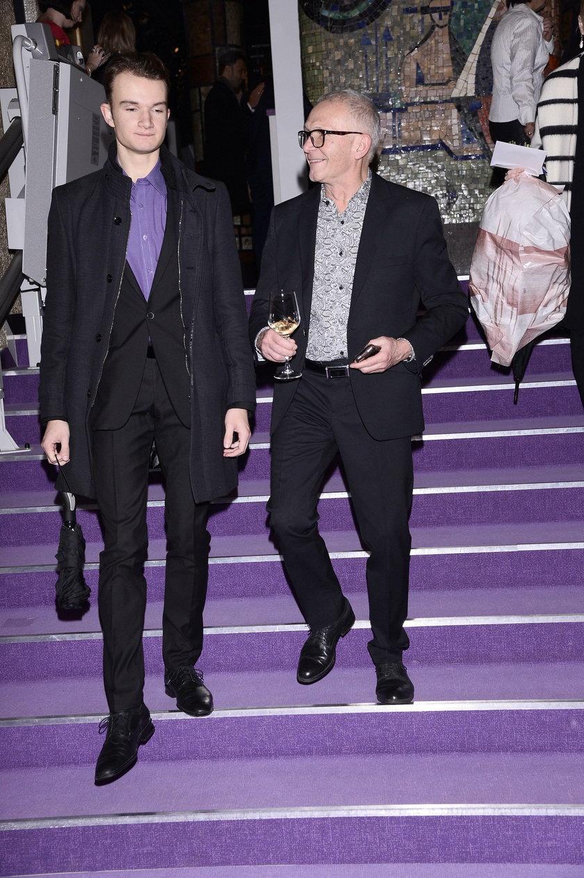 Marek Siudym z synem