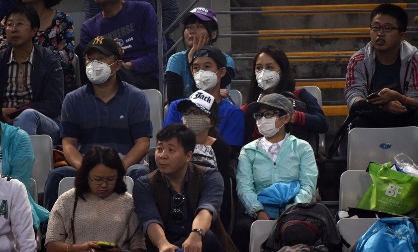 Smog atakuje tenisistów w Pekinie!
