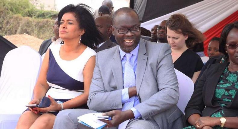 Esther Passaris with Ken Okoth. My cancer has no cure – City MP speaks on battling cancer
