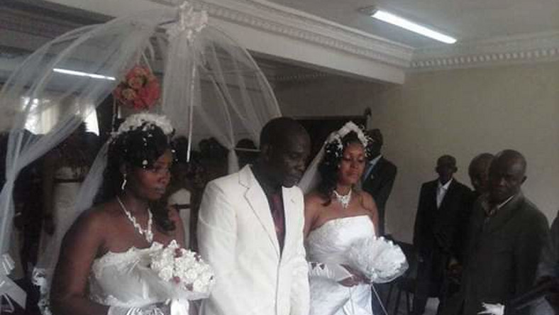 Man weds two wives