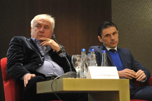 Maljković i Mažić na konferenciji