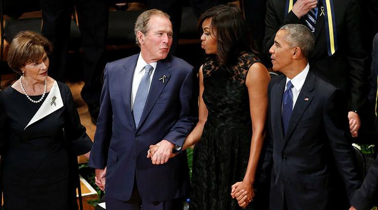 Džordž Buš se zaneo