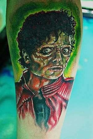 Zobacz tatuaże ku czci Michaela Jacksona