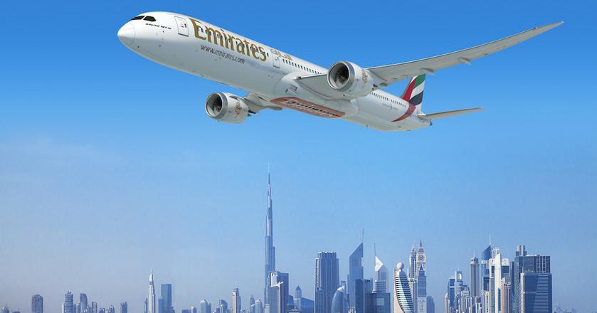 Linie lotnicze Emirates zamówiły 40 samolotów Boeing 787-10 Dreamliner. Pierwszy egzemplarz otrzymają w 2022 roku