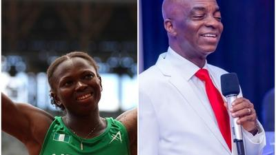 Ese Brume says she will decorate Bishop Oyedepo with her Tokyo Olympics Bronze Medal