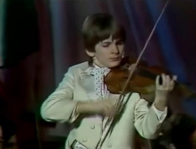 Genijalni violinista Stefan Milenković