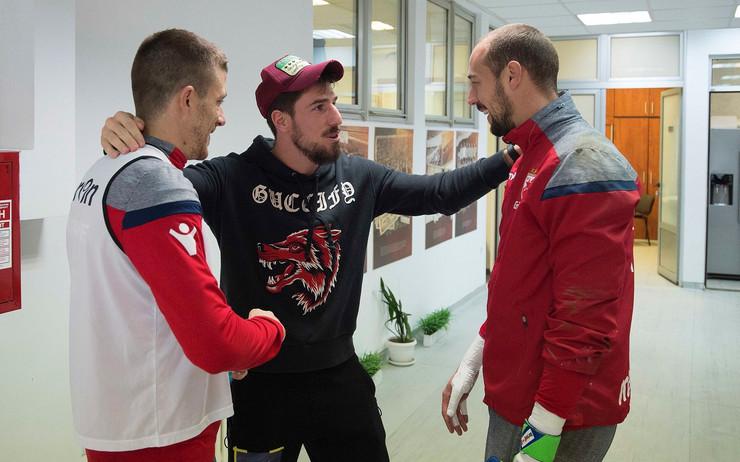 Miloš Degenek, Dušan Jovančić i Milan Borjan