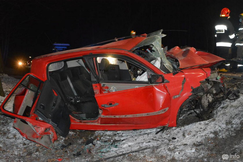 Wypadek w Borczu.