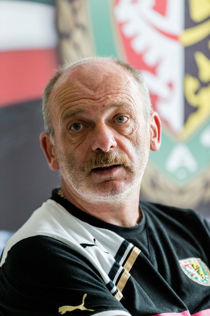 Trener Śląska Stanislav Levy